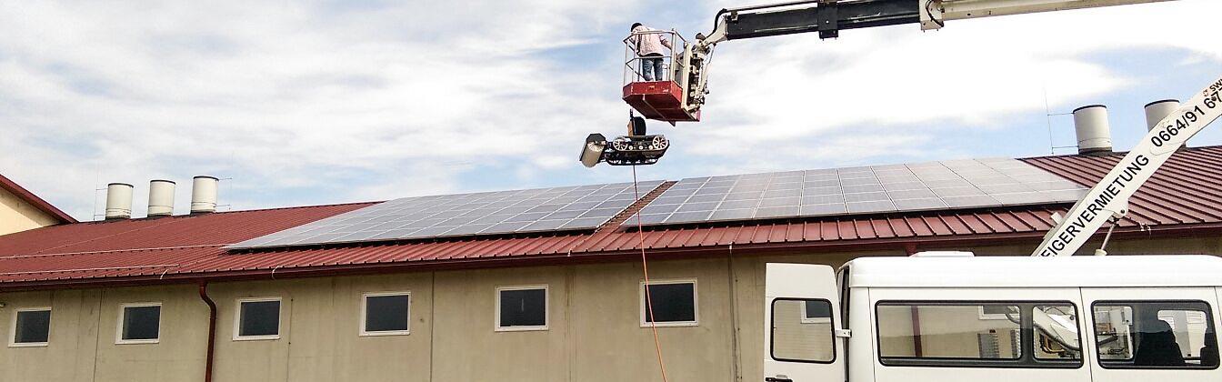 Photovoltaik- und Solarreinigung